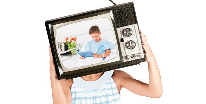 La imagen de los niños en hospitales en los medios de comunicación