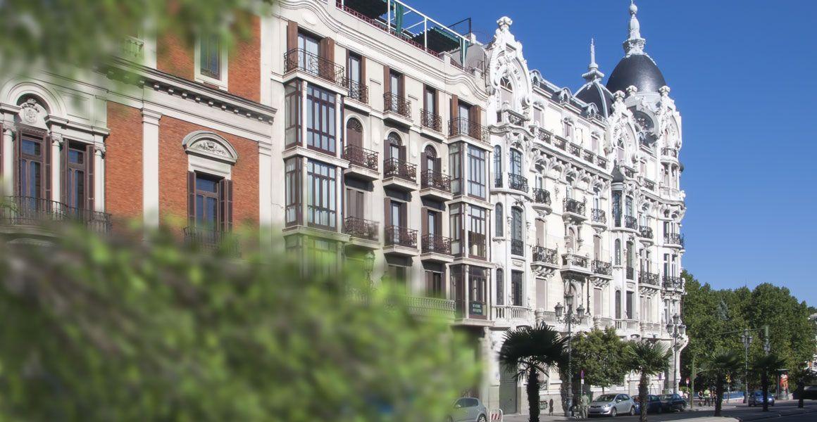 Edificio Histórico Artístico en Madrid sede de nuestro Centro de Psicología acreditado como Centro Sanitario