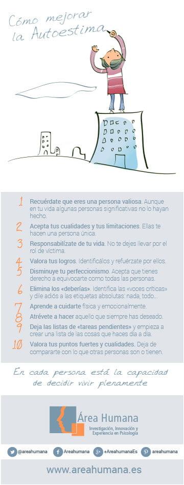 10 consejos para mejorar tu autoestima