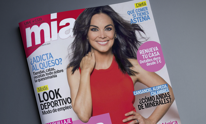 Elisa Sánchez cómo experta para la Revista MIA