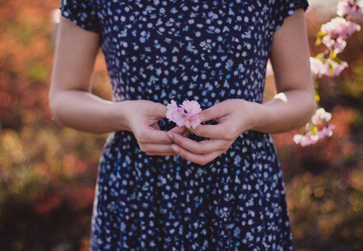 Imagen metáfora de infertilidad cuando quiero ser madre