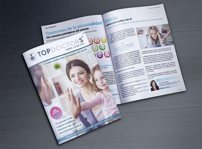 Área Humana en la revista Top Doctors