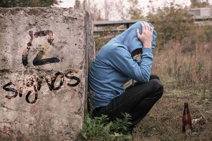 12 signos de alcoholismo en adolescentes