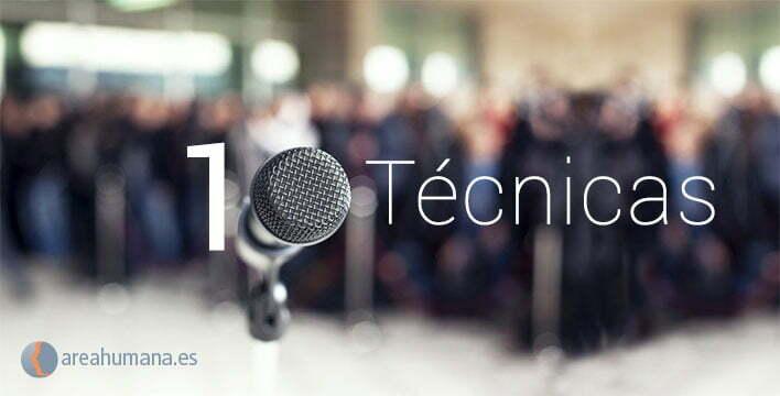 10 técnicas para saber hablar en público