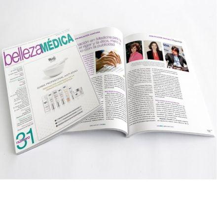 Julia Vidal reportaje en «Belleza Médica»