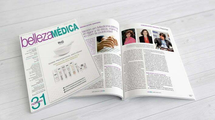 Julia Vidal reportaje psicología y medicina estética