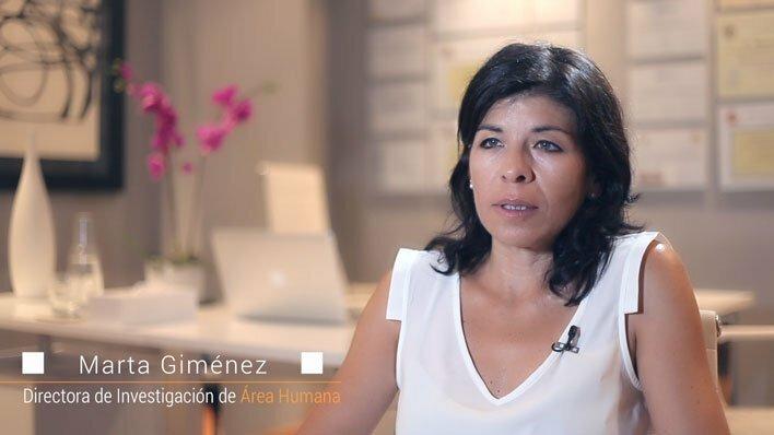 Marta Giménez entrevista sobre estrés laboral