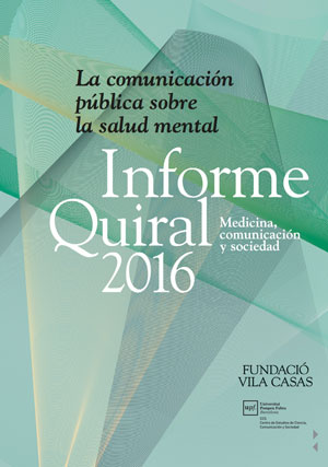 Informe sobre comunicación en materia de salud mental