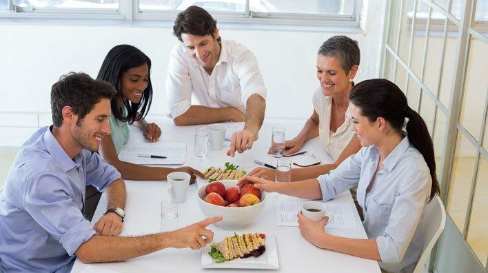 La comida es una actividad social