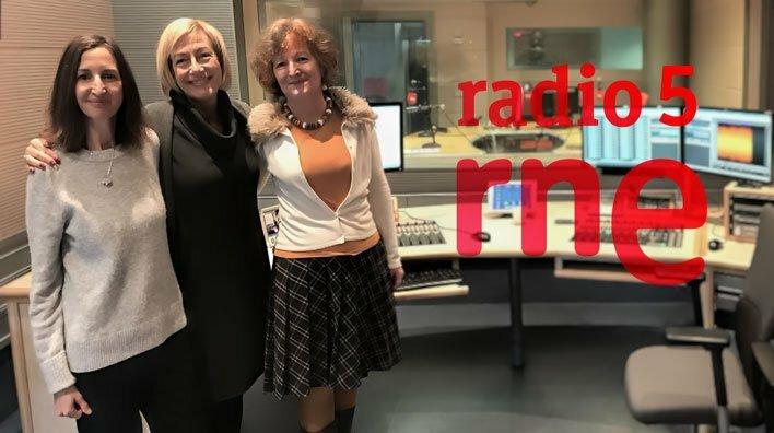 Julia Vidal nos habla de comida y emociones en «Estamos como queremos» de Radio 5