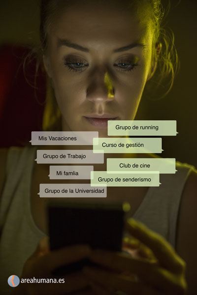 Comunicación emocional en los grupos de WhatsApp