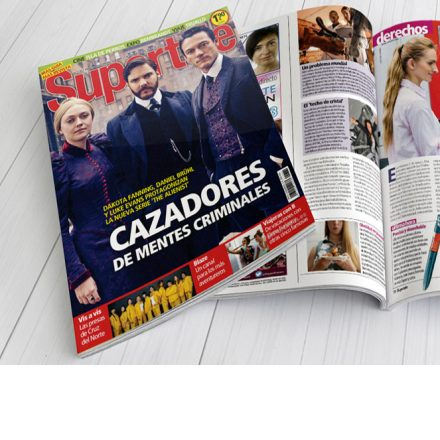 Marta Giménez en la revista «Supertele»
