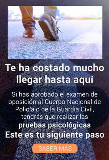 Preparación Entrevista Policía Nacional y Guardia Civil