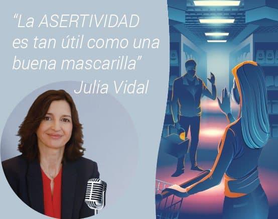 Julia Vidal sobre asertividad en Radio Popular