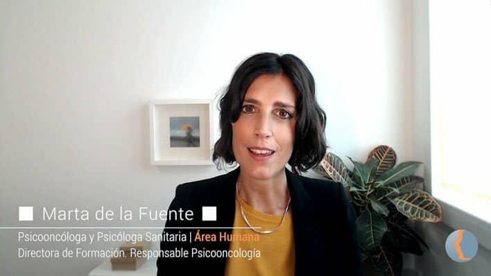 Entrevista a Marta de la Fuente sobre lenguaje y cáncer