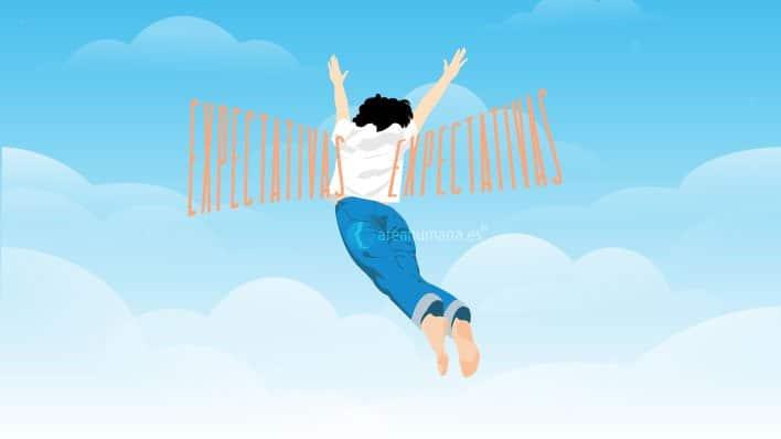 Las alas que dan las expectativas