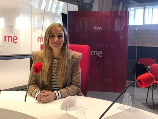 Natalia Franco en la tertulia Separaciones y divorcios de RNE