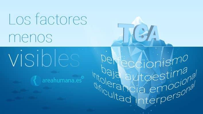 Factores menos visibles en los TCA