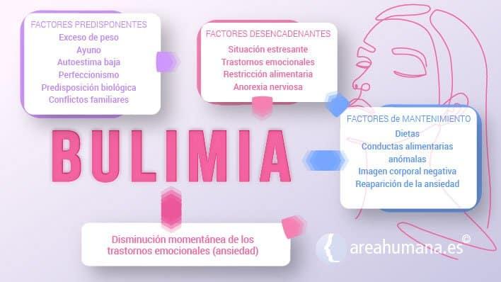 Origen y mantenimiento de la bulimia